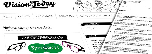 Post image for Specsavers considers our information misleading
