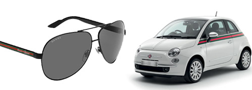 Post image for Cars inspire eyewear designers