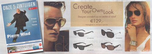 Post image for Prescription sunglasses in the Telegraaf