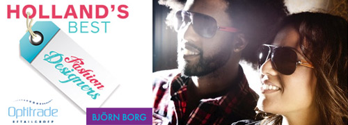 Post image for Shoot voor Bjorn Borg poster met winnaars Hollands Best Fashion Designers