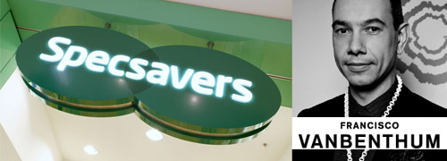 Post image for Once again a Dutch designer at Specsavers?