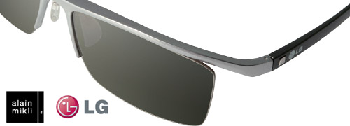 Post image for New 3D glasses by Alain Mikli for LG