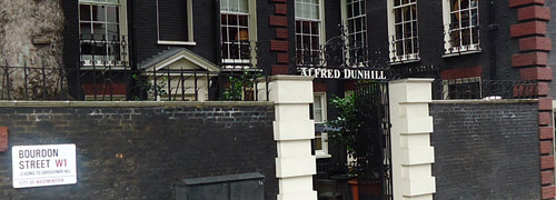 Post image for Dunhill Experience in Londen