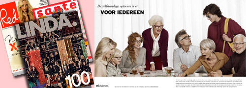 Post image for Dutch independent opticians in double thick edition of LINDA. magazine
