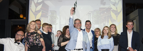 Post image for Winnaar en ambassadeur voor de branche