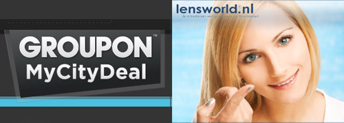 Post image for Discounts on contactlenses through Groupon