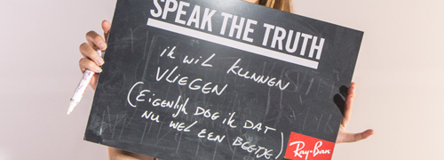Post image for Ray-Ban's Campaign4change nu ook in Nederland