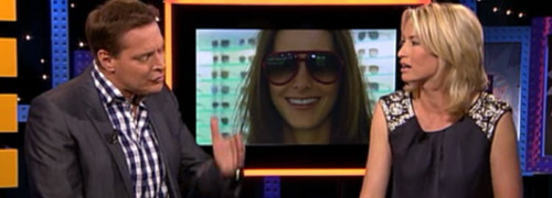 Post image for Sunny weather and sunglasses on television