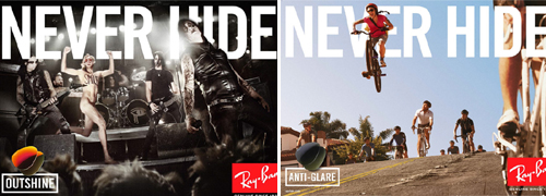 Post image for Ray-Ban campaign awarded