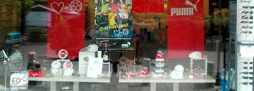 Post image for Orange fever in Dutch optical stores
