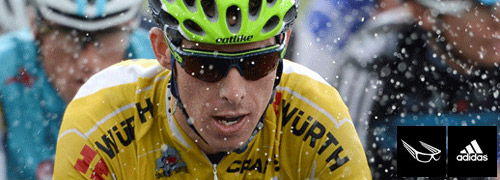 Post image for Strong Adidas Eyewear presence in Tour de France