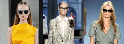 Post image for Prescription frames and sunglasses at the catwalk in New York