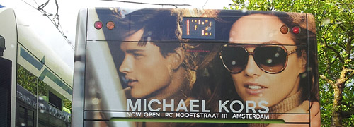 Post image for Michael Kors celebrates opening new store