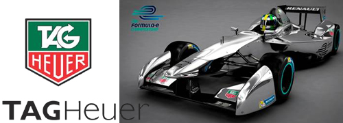 Post image for Tag Heuer teams up with Formula E