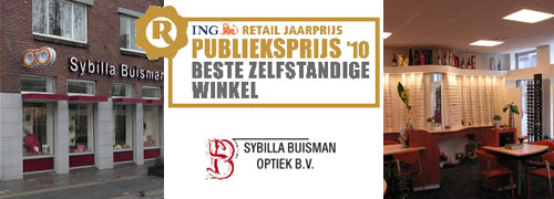 Post image for Sybilla Buisman Optiek wint publieksprijs
