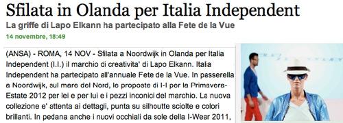 Post image for Fête de la Vue creates publicity in Italy