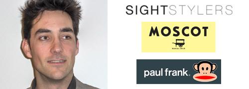 Post image for Nieuwe vertegenwoordiger voor Paul Frank en Moscot