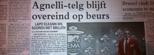 Post image for Telegraaf besteedt aandacht aan Italia Independent