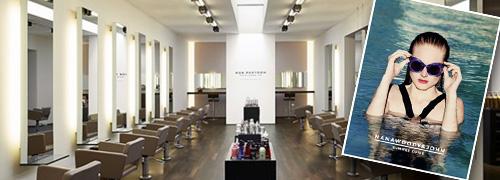 Post image for Beste hair & make-up salons promoten zonnebrillen