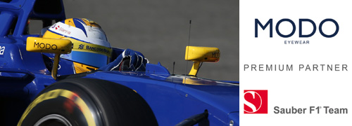 Post image for MODO nieuwe partner van Formule 1 team