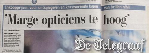 Post image for Telegraaf zorgt voor ophef