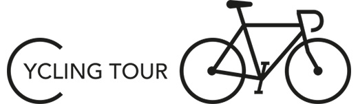 Logo Cycling Tour [zwart]