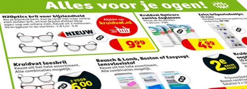 Post image for Kruidvat adverteert met kant-en-klare brillen
