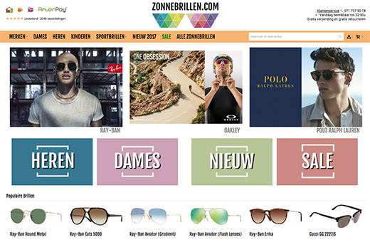 0f112b301df83 GrandVision Benelux neemt Zonnebrillen.com over — Vision Today