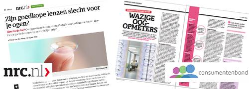 Post image for Optiek in de media