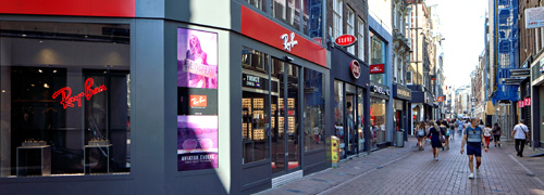 Post image for Ray-Ban winkel in Amsterdam officieel geopend
