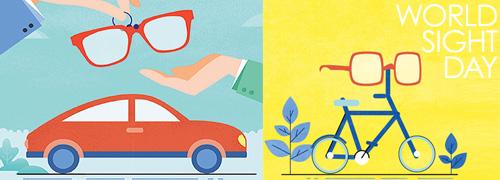 Post image for Essilor vraagt op World Sight Day extra aandacht voor Goed Zien in het Verkeer.