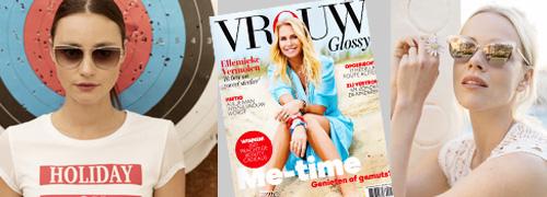 Post image for Maar liefst zes pagina's zonnebrillen in de Vrouw Glossy