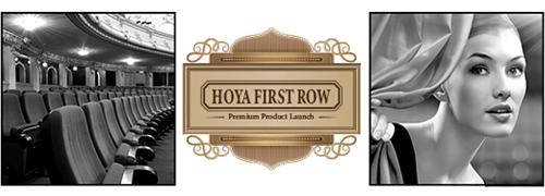Post image for First row bij HOYA
