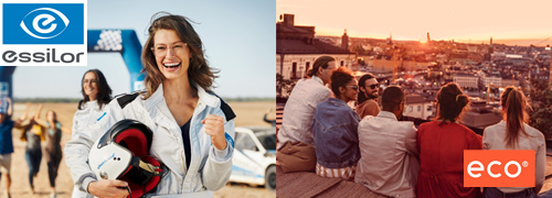 Post image for Nieuwe websites voor Essilor en ECO Eyewear