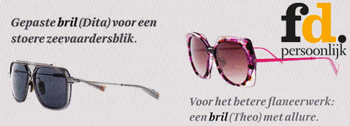 Post image for Theo, Dita, Cazal en tal van andere topmerken in de media