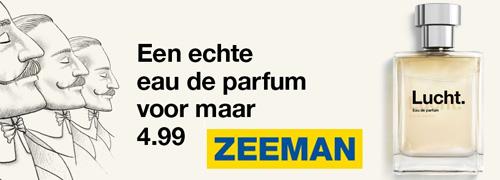 Post image for Zeeman lanceert parfum voor 4,99