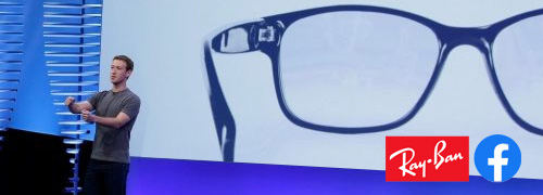 Post image for Facebook tempert de verwachtingen van Ray-Ban Smartglasses