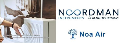 Post image for Noordman Instruments werkt samen met Noa Air aan schone lucht in de winkel