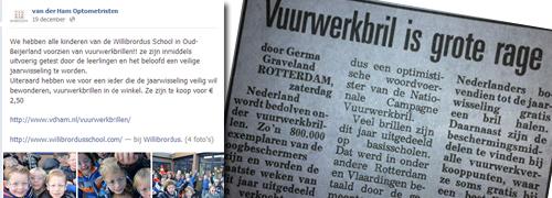 Post image for Telegraaf noemt vuurwerkbril een rage