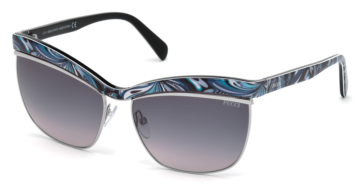 Emilio Pucci Launches New Collection In Partnership With Marcolin Eyewear