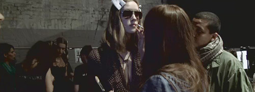 Post image for Backstage at the L'Agence show