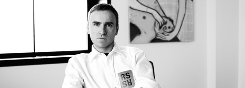 Post image for Raf Simons naar Calvin Klein